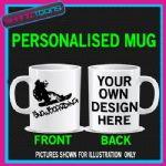 SNOWBOARDING SNOWBOARDER COFFEE MUG GREAT GIFT